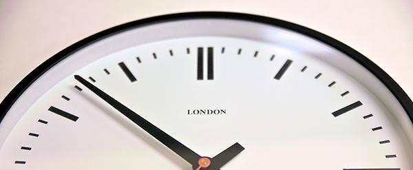 時計のバナー